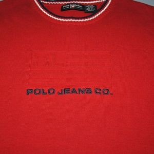 Ralph Lauren Polo Jeans Co. Sweater Size Medium